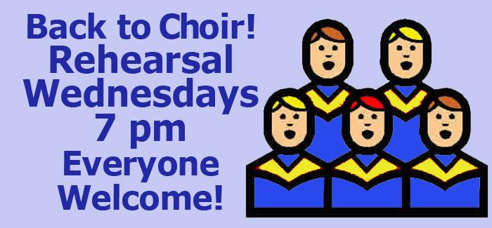 join us for choir